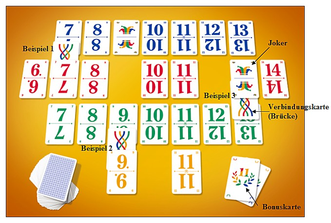 elfer raus card game